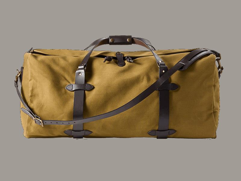 Filson Large Rugged Twill Duffle Bag - Tan