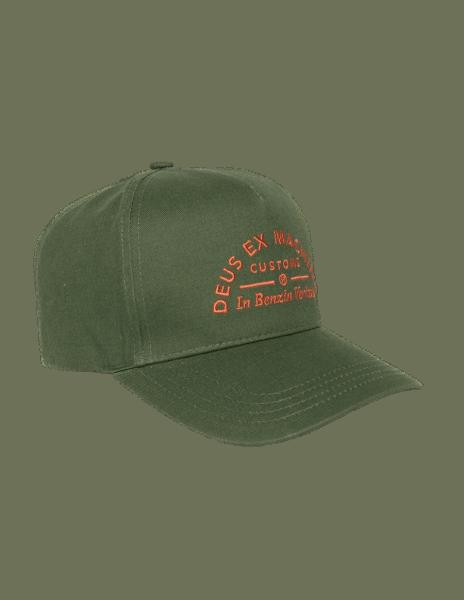 Deus Benzin Trucker Cap - Green