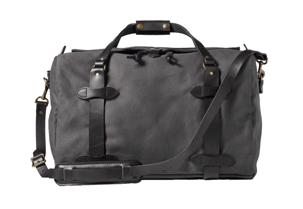 Filson Medium Rugged Twill Duffle Bag - Cinder
