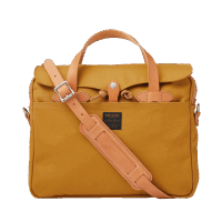 Filson Rugged Twill Original Briefcase - Chessie Tan