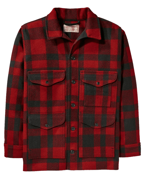 Filson Mackinaw Cruiser - red/black