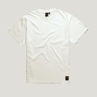 Deus Plain Military Tee - Vintage White