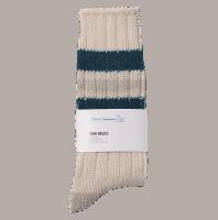 Merz b. Schwanen G.B. Socken - natur-denim blue