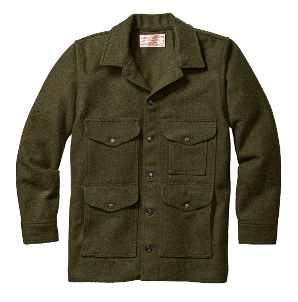 Filson Mackinaw Cruiser - Forrest Green