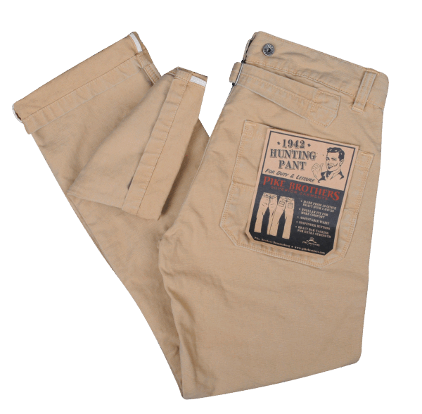 original reputable site good service Pike Brothers 1942er Hunting Pant Khaki