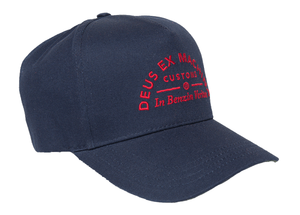 Deus Benzin Trucker Cap - navy