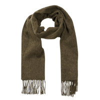 John Hanly Irish Wool Scarf - Loden