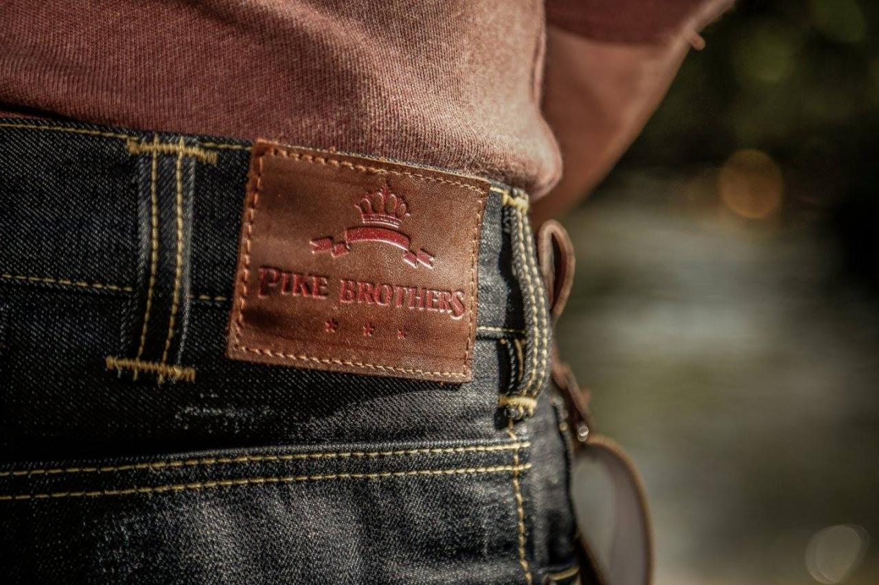Pike Brothers 1932 Engineer Lanyard cognac