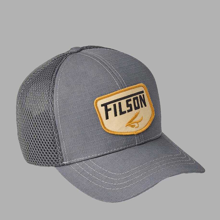Filson Mesh Logger Cap - charcoal