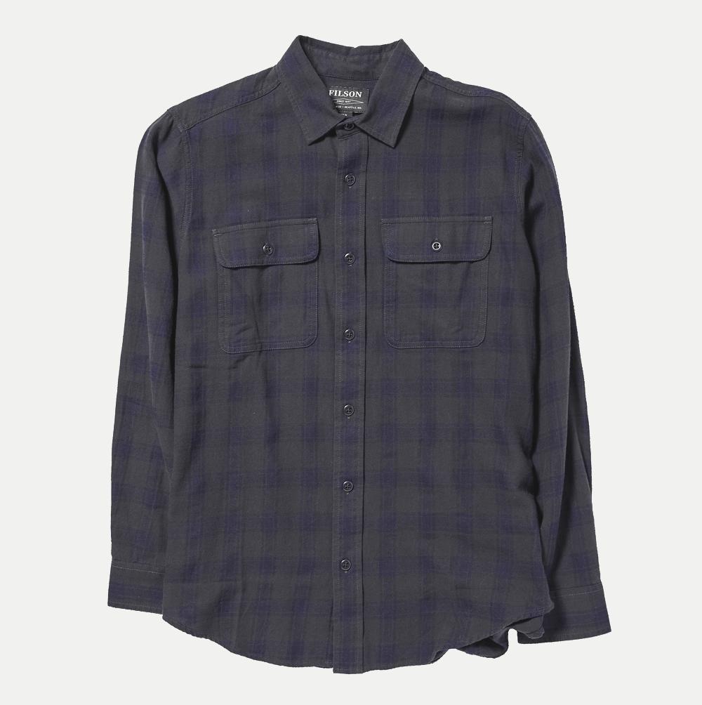 Filson Scout Shirt Shirt black-indigo