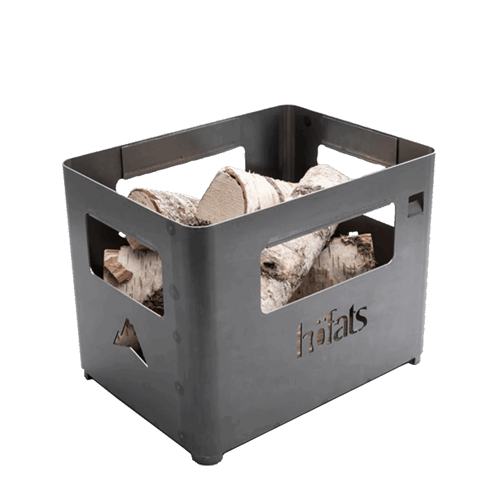 BEER BOX Fire Basket