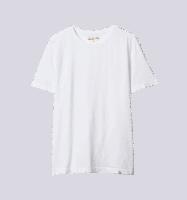 Merz b. Schwanen G.B. Genderless Roundneck T-Shirt - white