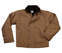 Pike Brothers 1944 N1-Deck Jacket Khaki Waxed