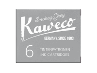 Kaweco Tintenpatronen 6 Stück - Rauchgrau