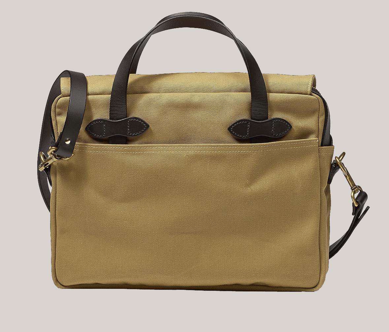 Filson Rugged Twill Original Briefcase - Tan