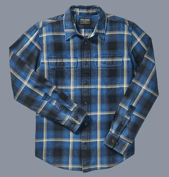 Filson Scout Shirt Shirt indigo-gold