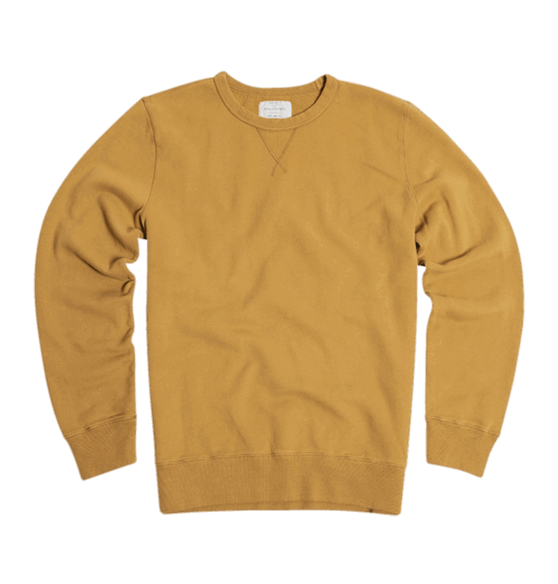 Bowery NYC - Crew Sweat - Cumin Yellow