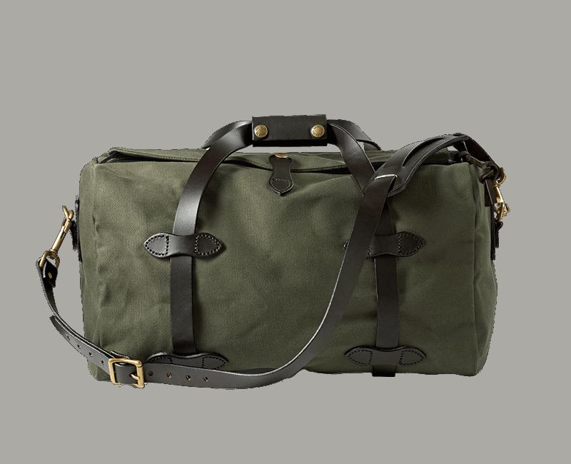 Filson Small Rugged Twill Duffle Bag - Otter Green