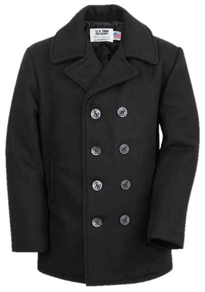 Schott US Peacoat 740 Navy