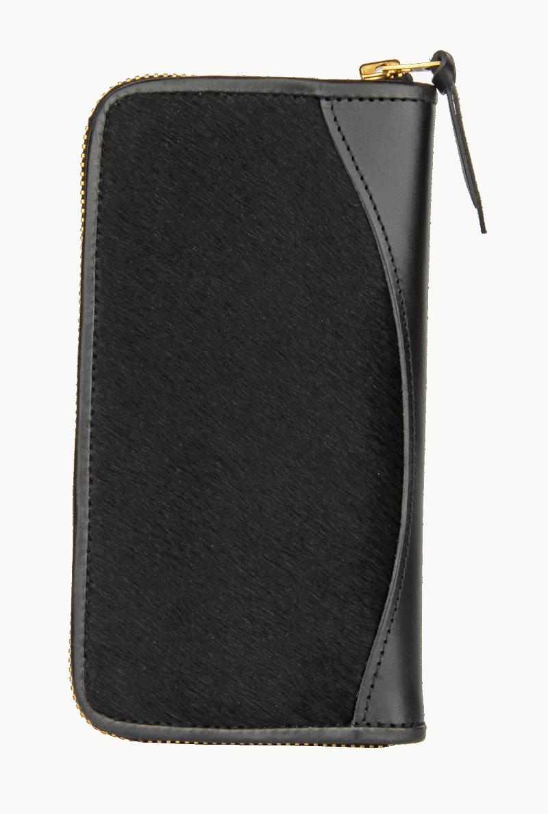 Long Wallet- black pony