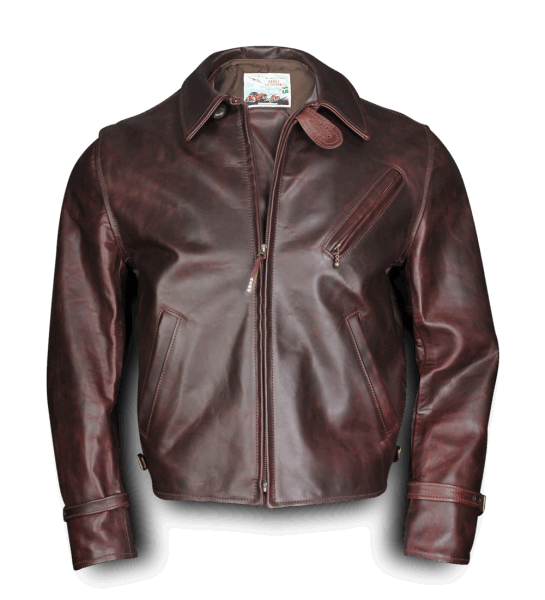Aero Leather Route 66 cordovan