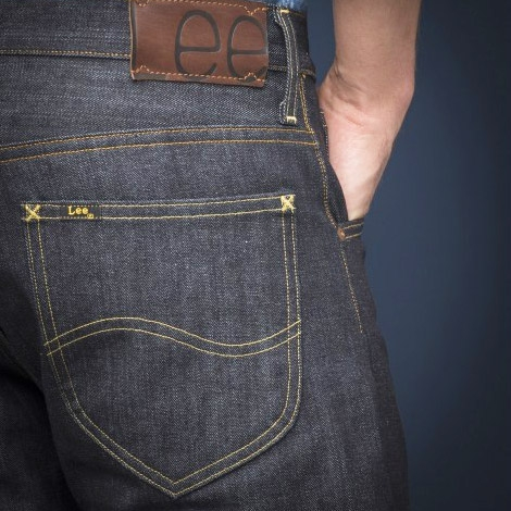 LEE 101 Z DRY SELVAGE JEANS