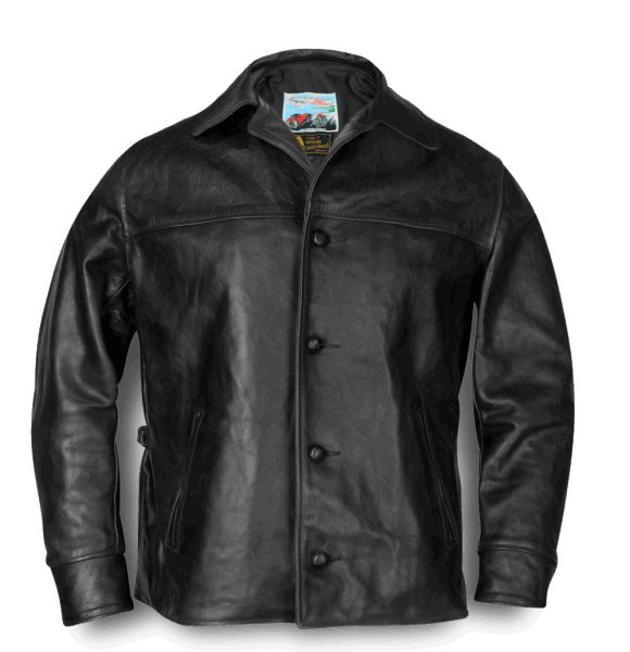 Aero Leather Teamster black