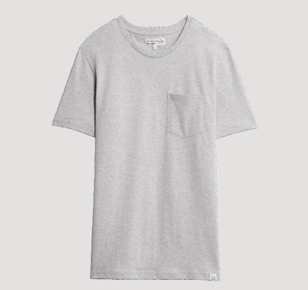 Merz beim Schwanen Basic Pocket T-Shirt - Grey
