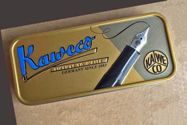 Kaweco LILIPUT ECO Brass Wave Kugelschreiber