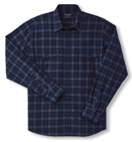 Filson LT Alaskan Guide Shirt - black/blue