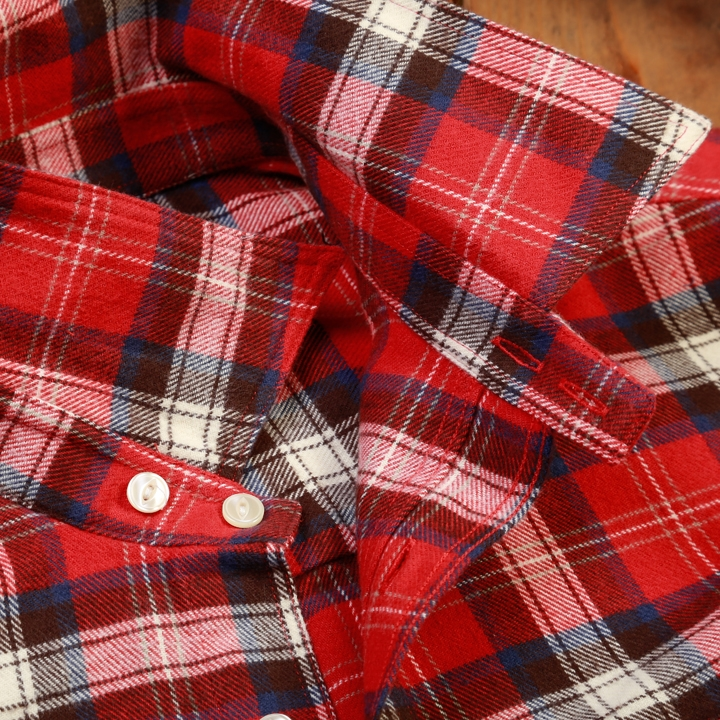 Pike Brothers 1937 Roamer Shirt red Flanel