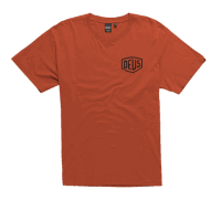 Deus Amsterdam Address Tee - Rust