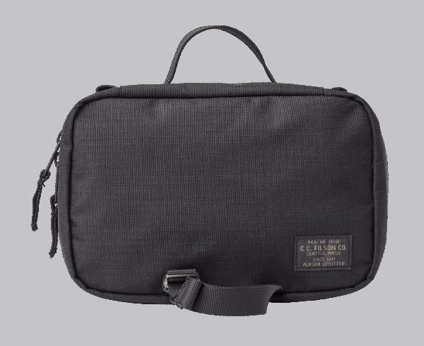 Filson Ripstop Nylon Travel Pack - black
