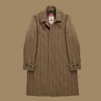 Baracuta Paul Wool Coat - forrest