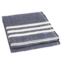 Faribault Trapper Blanket Natural / Gray 50x72 inch / 125x180cm