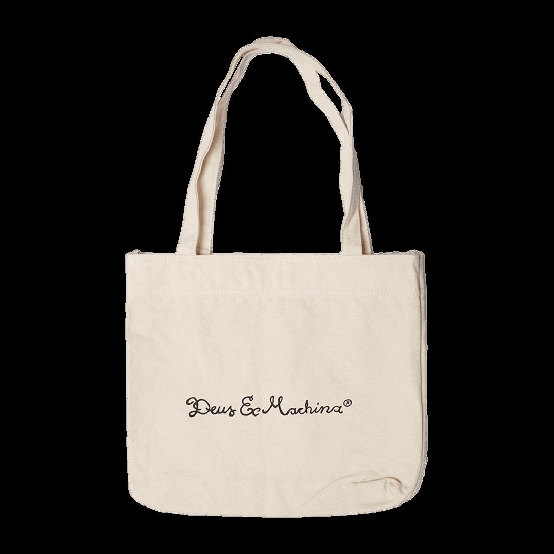 Deus Tote Bag - Canvas White