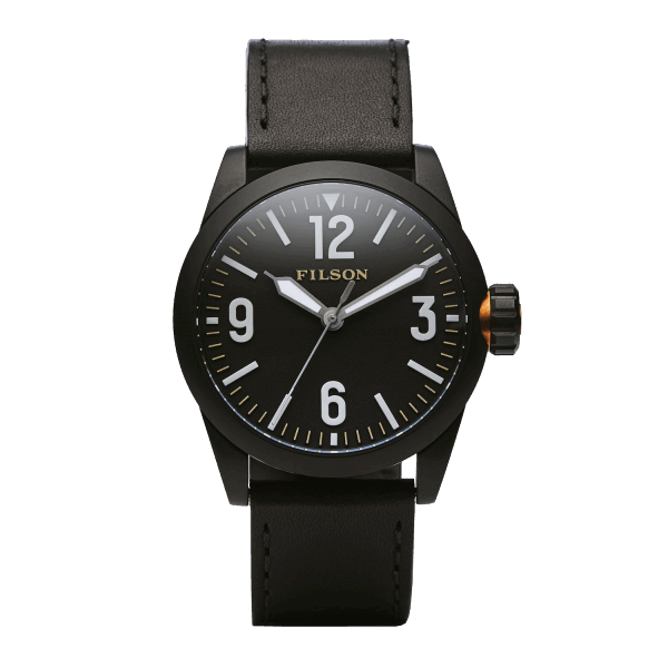 Filson Field Watch - black/black