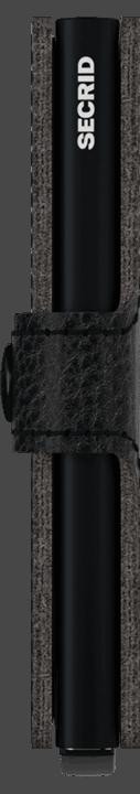 Secrid Miniwallet - Veg - black