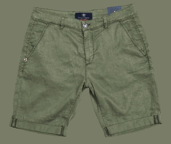 BLUE DE GENES Teo Shane Shorts - herb green