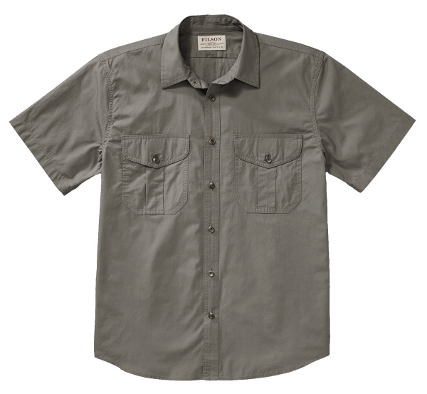 Filson Feather Cloth Shirt - light olive