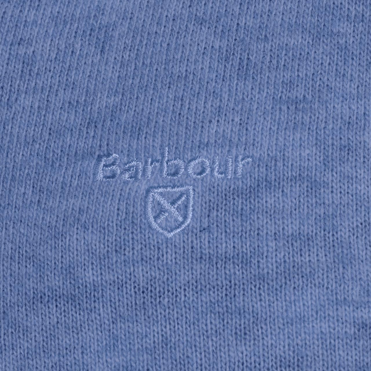 Barbour Essential Lambswool Crew Neck - denim marl