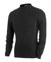 Saint James Matelot Pullover - black