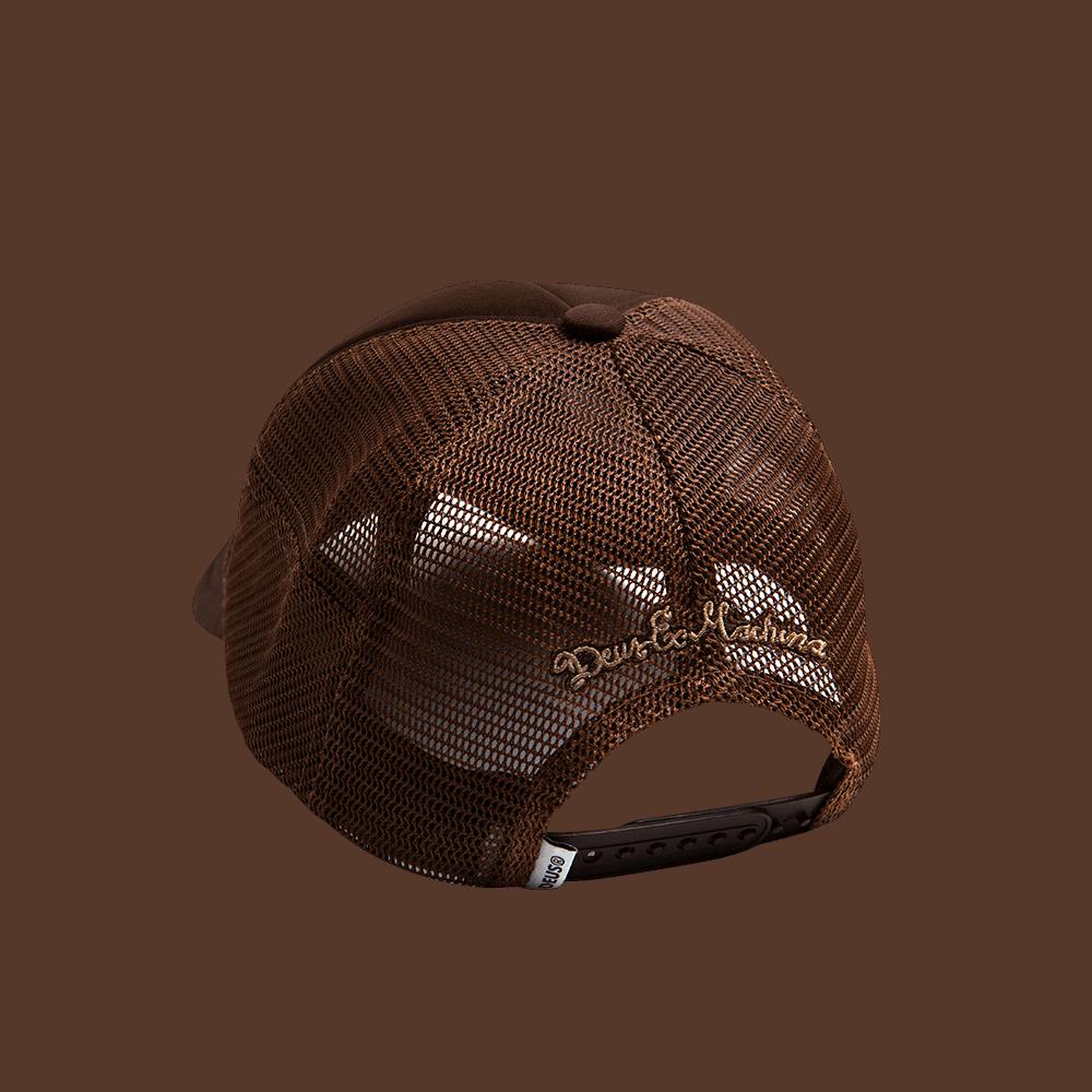 Deus Fleece Shield Trucker - brown
