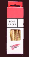 "Red Wing Lace Taslan 36"" gold"