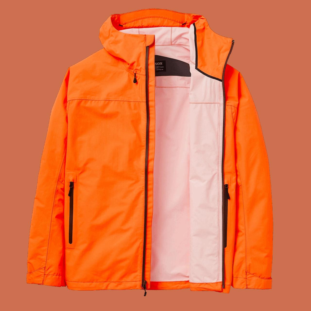 Filson Swiftwater Rain Jacket - blaze orange