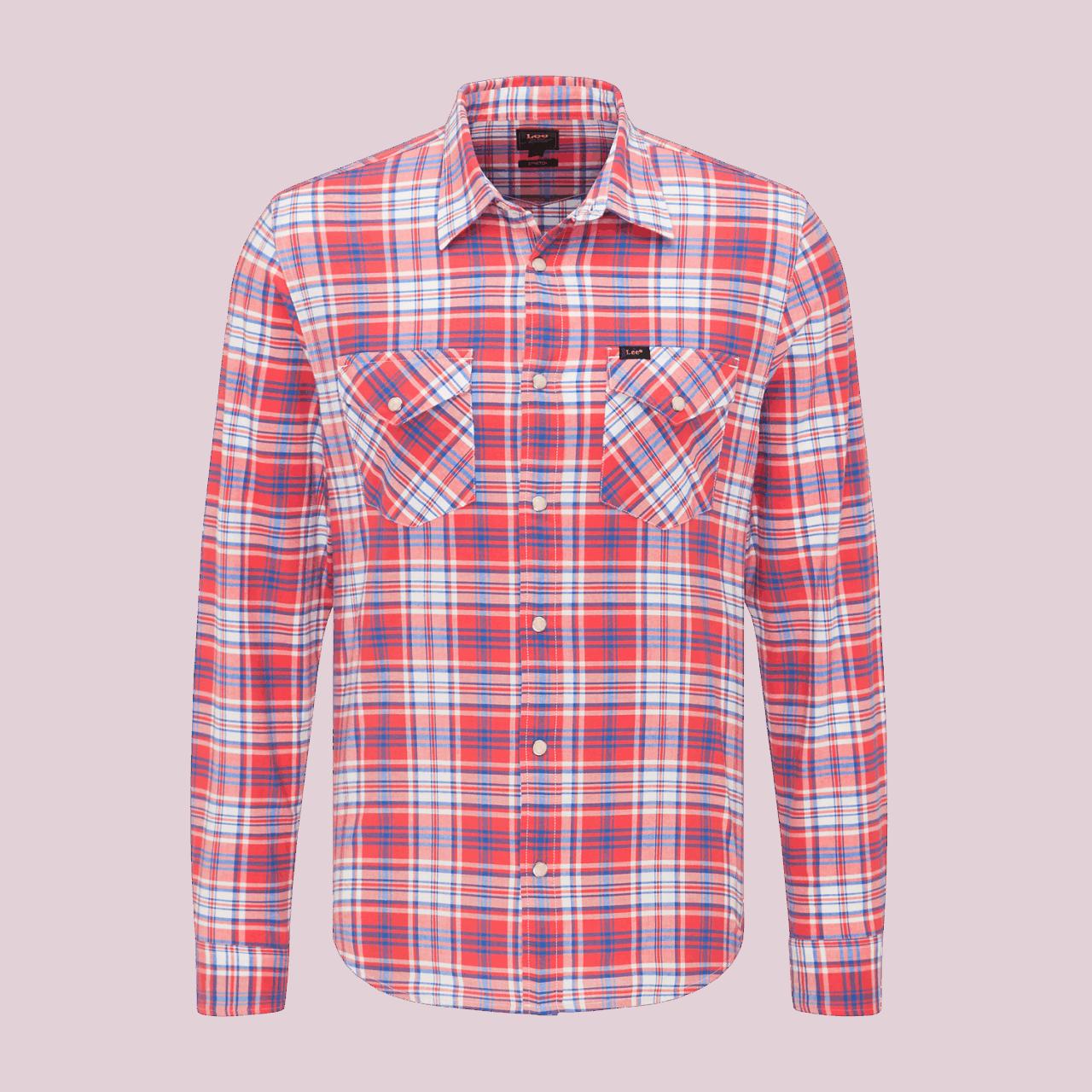 LEE Clean Western Shirt - Aurora red