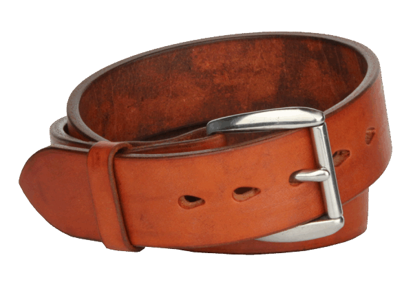 Scott Willis Heavy Duty Belt Cognac