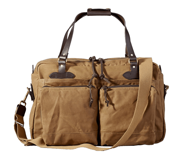 Filson 48 Hour Tin Cloth Duffle Bag - tan