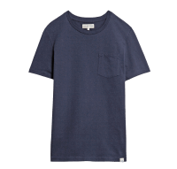 Merz beim Schwanen Basic Pocket T-Shirt - Deep Blue