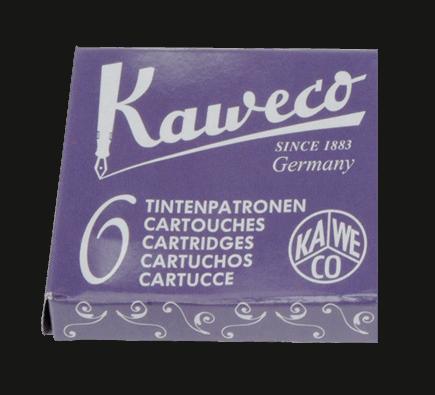 Kaweco Tintenpatronen 6 Stück - Sommer Lila